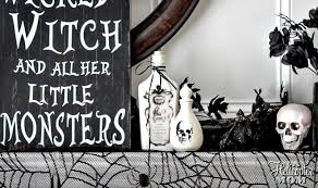 Halloween Home Decorating Halloween Home Decor Ideas And Inspiration A Helicopter Mom