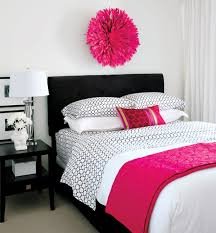 Gorgeous Pink And Black Accented Bedrooms Home Design Lover - Girls bedroom ideas pink and black