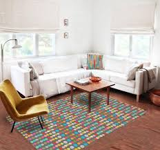 multicolor dots rugs area rug modern rugs dorm rugs