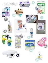 newborn baby necessities the essential guide to your baby registry and buying baby gifts