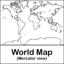 antarctica map clip art 14
