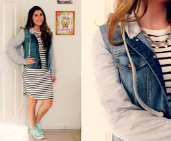 how to style stripes from winter to spring college fashion
