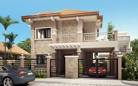 two storey house four bedroom two storey contemporary residence home design