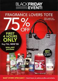 yankee candle canada black friday weekend sale sneak peeks