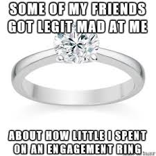 Wedding Ring Meme - why should the cost of the ring matter meme on imgur