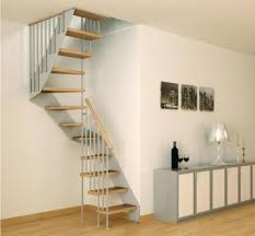 Apartment Stairs Design Simple Spiral Stairs For Small Space In Apartment Design With