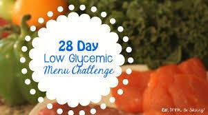 28 day low glycemic menu plan challenge eat drink u0026 be skinny