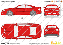 vauxhall monaro vxr the blueprints com vector drawing vauxhall monaro vxr8