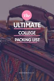 College Packing Checklist Best 20 College Packing Ideas On Pinterest College Packing Tips