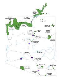 Map Of Yuma Arizona by Arizona Parks Southern Arizona Office U S National Park Service