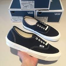 best quality vans vault og authentic size 10 lx dress blue men fog