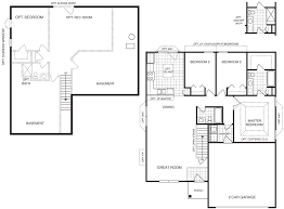 custom home builder floor plans custom home builders st louis mo area tremont 3 bedroom ranch