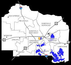 gainesville map gainesville fl subdivisions and homes for sale