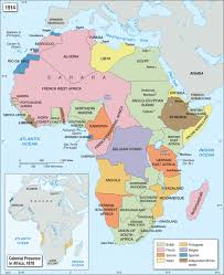 Scramble For Africa Map by Expansion Was Everything