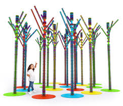 donut tree hpl play furniture from yellow goat design architonic