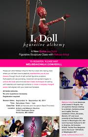 sep 9 guise and dolls figurative sculpture class with artist
