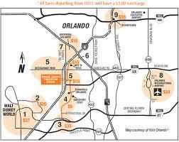 orange county convention center map orange county convention center