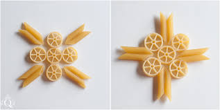 the quinntessential craft diy macaroni ornaments