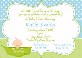 baby shower invitations for boy u0026 girls baby shower invitation