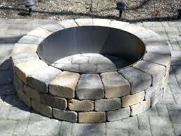 Round Brick Fire Pit Design - round brick fire pit plans tag round fire pit circular brick
