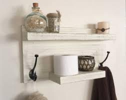 hanging wood shelf bathroom shelf rustic shelf spice