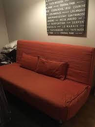 Beddinge Sofa Bed Slipcover by Sofa Bed Beddinge Lovas Ikea Orange In Clifton Bristol Gumtree