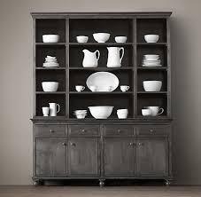 restoration hardware china cabinet restoration hardware love the dark grey color unit can primer