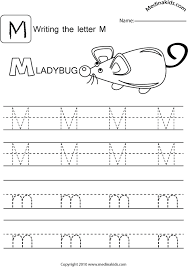 medinakids learn write upper and lower case letters practice letter m