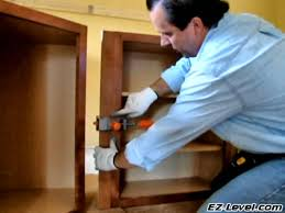 Pony Cabinet Clamps How To Install Wall Cabinets Part 3 Of 4 Youtube