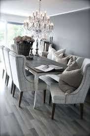 dining room chairs upholstered fascinating gray upholstered dining chairs houzz intended for in