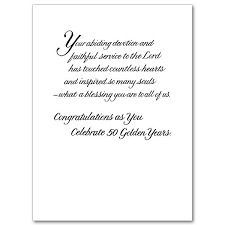 celebrating you on your golden jubilee priest or religious 50th