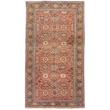 antique persian sultanabad carpet handmade oriental rug navy