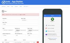 Best Free Resume Builder Ipad by Ionic Mobile App Builder By Codegenerator Codecanyon
