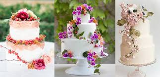 wedding cake sederhana floral wedding cake stacie bridal