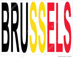 Belgia Flag City Of Brussels And Belgian Flag Stock Illustration I1232724 At