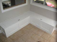 Build Storage Bench Window Seat by Awesome Kitchen Bench With Storage I Bet The Husband Could Build