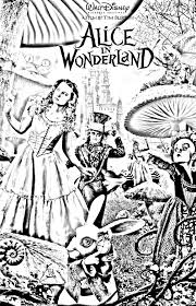 movie alice tim burton movies coloring pages for adults