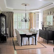Dining Room Window Coverings by Dining Room Inspiration Curtains With Amazing Windows Treatment