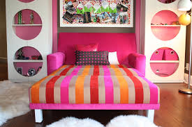 bright twin sleeper sofa in living room beach style with next to