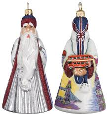 glitterazzi international santa ornament ornaments