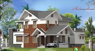 4 bhk modern style kerala house elevation architecture kerala