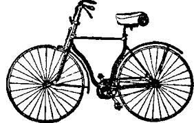 bicycle drawing reusableart com