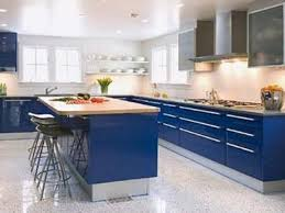 country blue kitchen cabinets