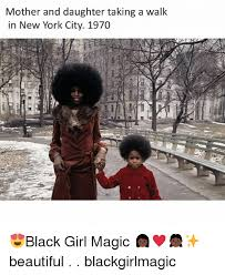 Mother Daughter Memes - mother and daughter taking a walk in new york city 1970 black girl