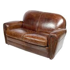 canap 2 places marron canape cuir 2 places avec canap 2 places bridge en cuir marron