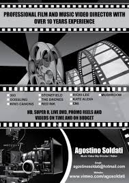 Music Video Production Companies Upmarket Bold Flyer Design For Agostino Soldati By Artistmania
