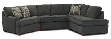 Wrap Around Sofa Living Room Dual Chaise Sectional Grey Leather Brown Sofas With