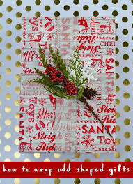 How To Wrap Gifts - how to wrap odd shaped gifts make life lovely