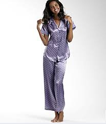 lazy sunday satin pajamas by holeva