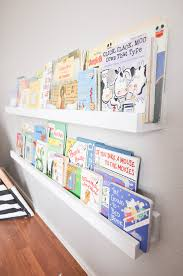 kids book shelves diy wall mounted kid u0027s bookshelves our handcrafted life